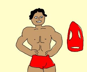 Hot lifeguard