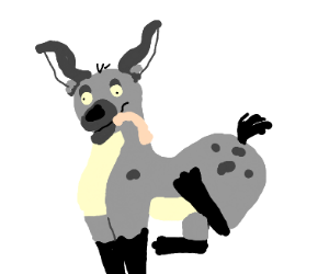 Hyena from lion king