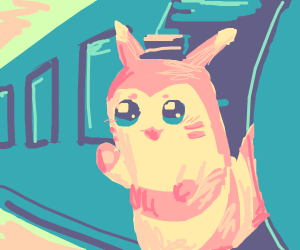 Furret is a Train Conductor