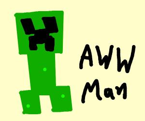 CREEPER! Aww Man