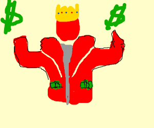 Rich Red Dude is King