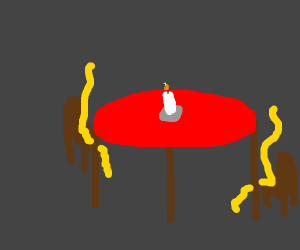 pasta on a date