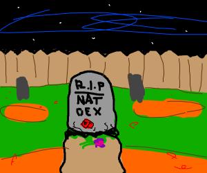 the pokedex is DEAD