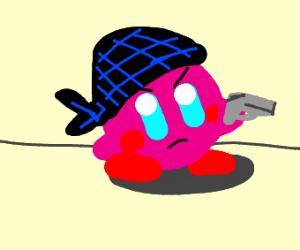 gangbanger kirby flyin his colors yo
