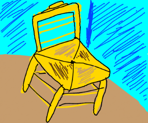 the chair Van Gogh once painted