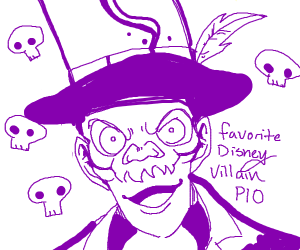 Favorite Disney villain PIO