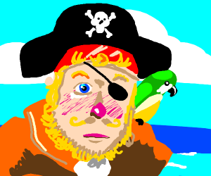 Spongebob pirate