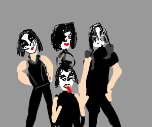Rock Band Kiss