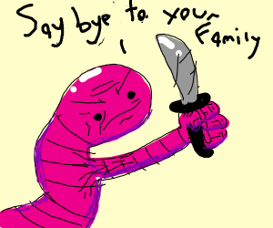 Book worm will cut you >:(