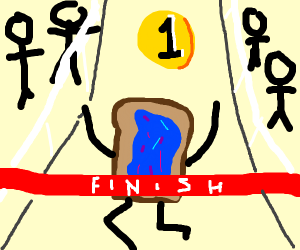 blueberry toast wins 1st place