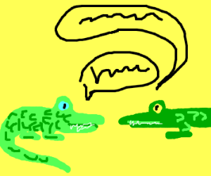 Alligators talking to eachother