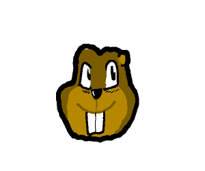 Gopher face?