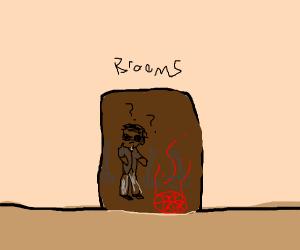murdoc stop doing rituals in the broom closet