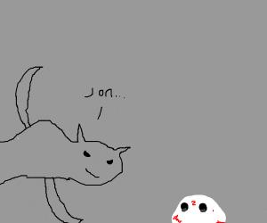 Garfield kills, Jonathaniel. Its what he does