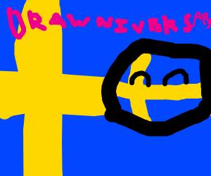 Sweden as a Countryball