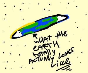 Cilindrical earth