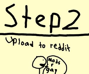 Step 1: epically fail