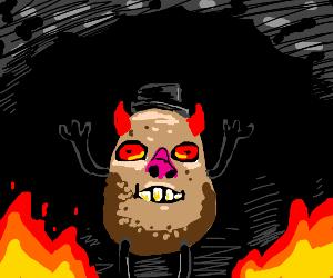 Mr. Satanic Potato Head