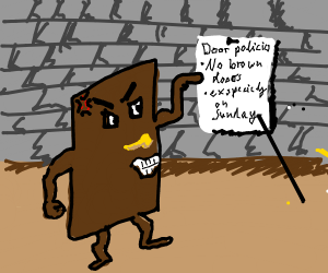 Door offended by racist anti-door policies