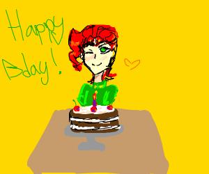 Happy birthday to best boi Kakyoin!!!