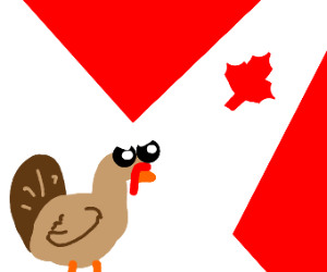 Turkey invades canada