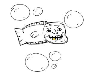 Troll fish