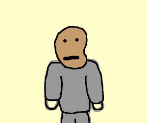 Potato headed man