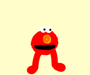 Elmo but just the head and legs