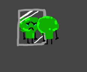 broccoli with body dismorphia