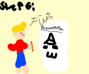 Step 5: Get Drawception contest in your honor