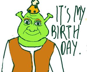 It's Shrek's birthday!