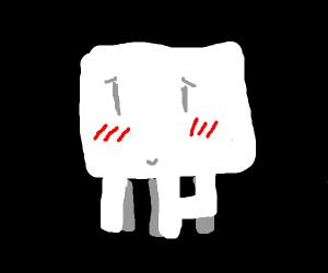 minecraft ghast is nice but shy