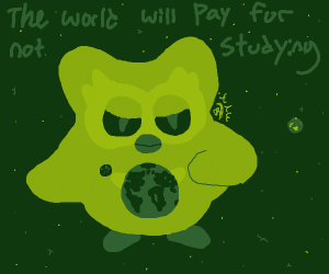 Duolingo bird takes over world