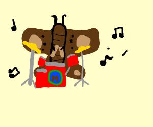 Moth Playing