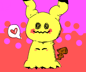 Blushing Mimikyu