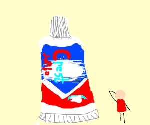 Jumbo Toothpaste