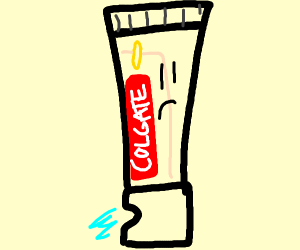Sad Toothpaste