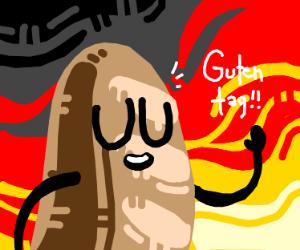 German toast waving