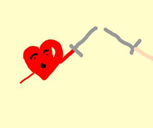 Heart in a Battle