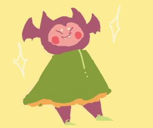 Magical bat girl