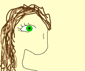 help? srry? green eyes and brown hair?