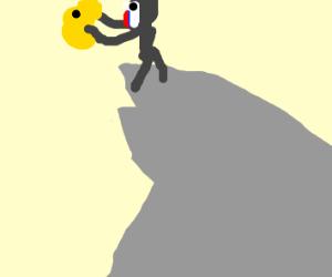 Simba on pride rock