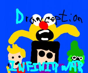 Drawception infinity war(yellmo,jazza ect...)
