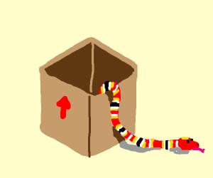 A Regular Snake in a Box