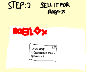 Step 1 Hack A Game On Roblox Drawception