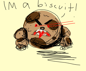 Buff Biscuit Monster