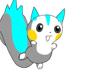 pachirisu from pokemon