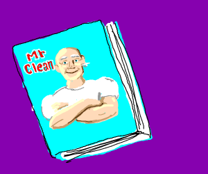 Mr. Cleans book