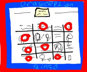 Drawception Bingo
