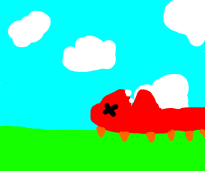 Oh no (Dino death)